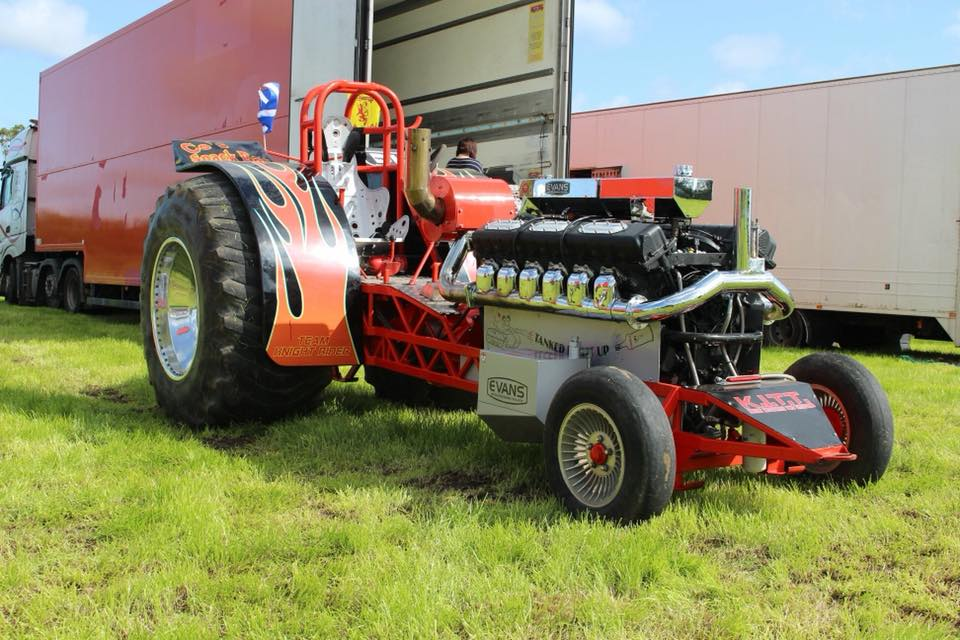 Scotlands Tractor Pulling Page's 2019